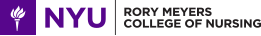 NYU Rory Meyers College of Nursing Logo